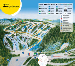 Gallix Ski Trail Map