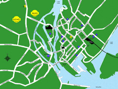 Galway City Map