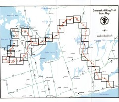 Ganaraska Hiking Trail Map
