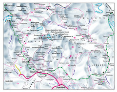 Gandaki Mountain Trail Map