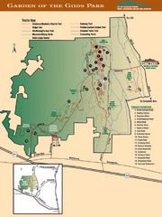 Garden of the Gods Park Map