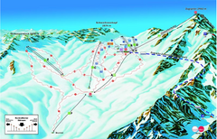 Garmisch Partenkirchen Ski Trail Map