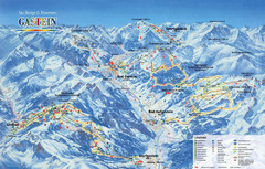 Gastein Ski Trail Map