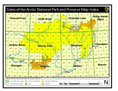Gates of the Arctic National Park and Preserve...