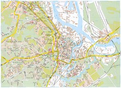 Gdansk Tourist Map