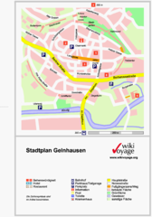 Gelnhausen Center Map