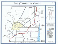Geneseo Town Map