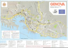 Genoa Tourist Map Genoa Italy mappery