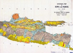 Geological Indonesia Map