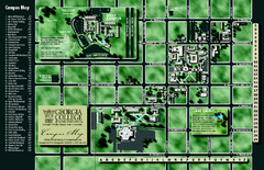 Georgia College Campus Map