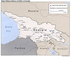 Georgia Defense Facilities Map