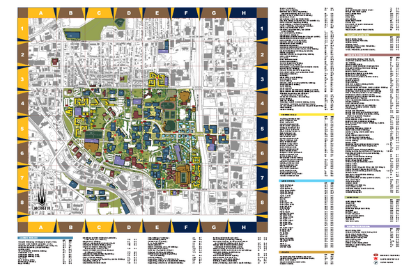 Atlanta GA Tourist Map Atlanta GA mappery – Georgia Tourist Map