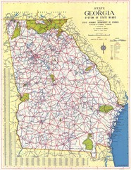 Georgia Road Map