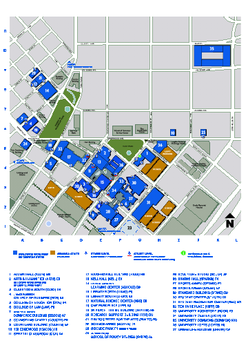 Georgia State University Map - Atlanta Georgia • mappery