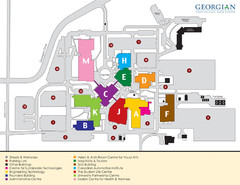 Georgian College Map