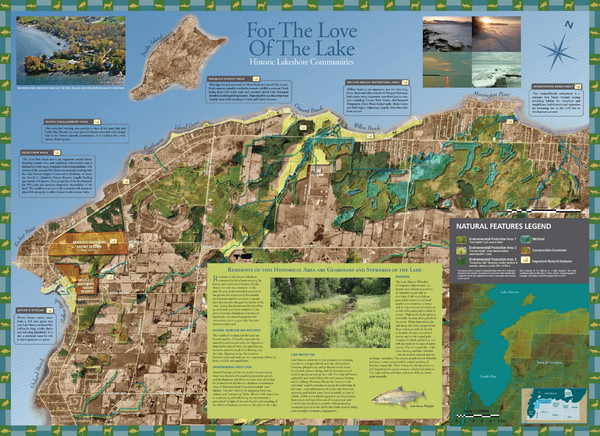 Georgina Historic Lakeshore Communities Map
