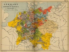 Germany 1519 Historical Map