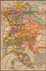 Germany Italy 1803 Map