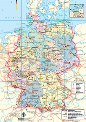 Germany Tourist Map