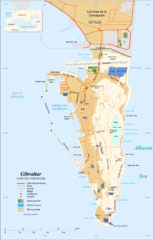 Gibraltar overview Map