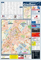 Giessen Tourist Map