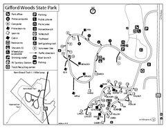 Gifford Woods State Park Campground Map