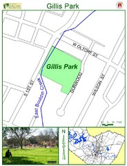 Gillis Park Map