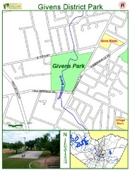 Givens District Park Map