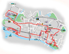 Glasgow Bus Tour Map