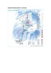 Glen Coe Ski Trail Map