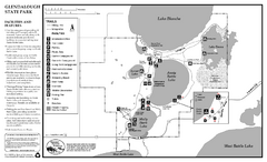 Glendalough State Park Map