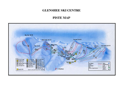 Glenshee Ski Centre Ski Trail Map