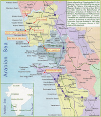 Goa City Map