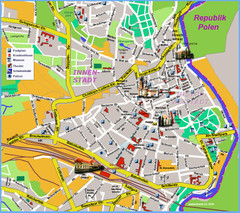 Goerlitz Tourist Map