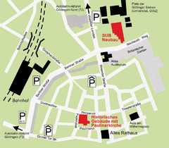 Goettingen Map