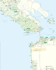 Golden Gate National Recreation Area Detail Map