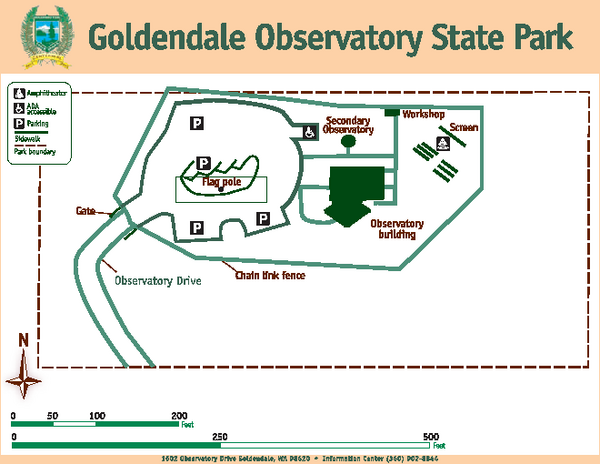 Goldendale State Park Map