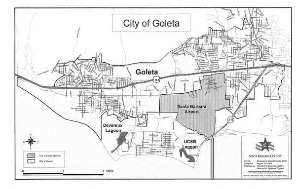 Goleta City Map