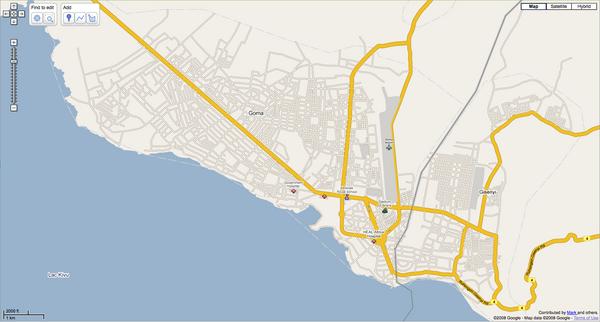 CongoKinshasa maps mappery
