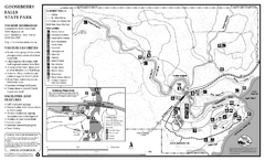 Gooseberry Falls State Park Map