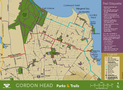 Gordon Head Area Map