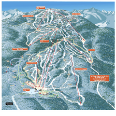 Gore Mountain Ski Trail Map