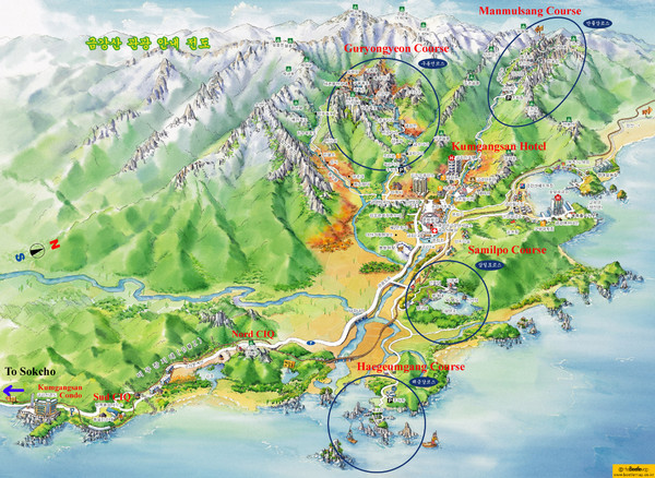 Goseong Tourist Map