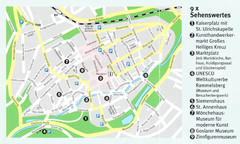 Goslar Map