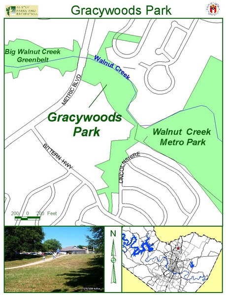 Gracywoods Park Map