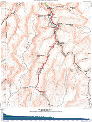 Grand Canyon Havasupai Campground Map