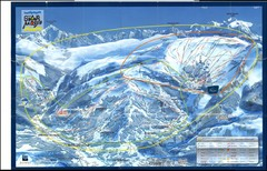 Grand Massif, Flaine (france) Map