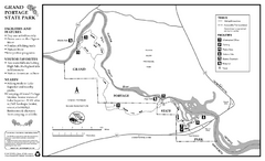 Grand Portage State Park Map