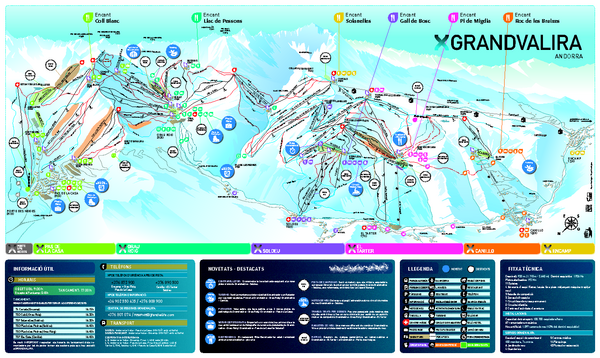 grand massif piste map pdf
