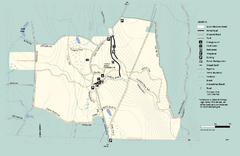 Granville State Forest trail map